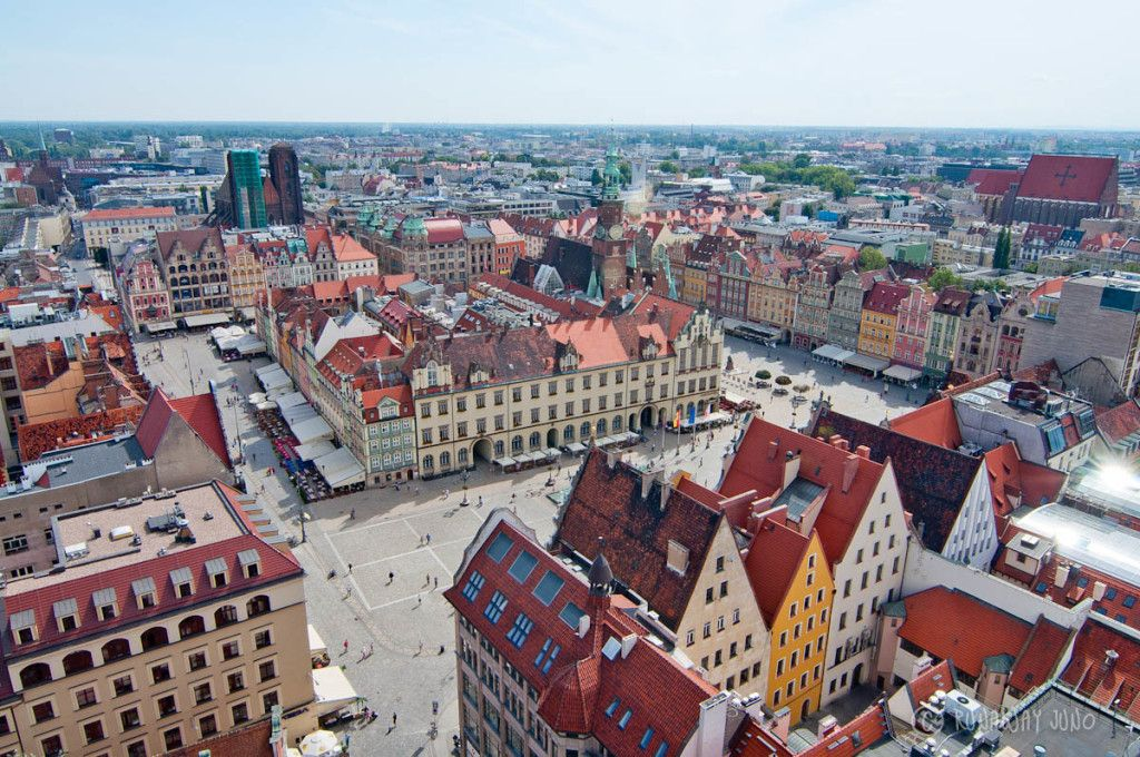 Wroclaw Poland Europe view