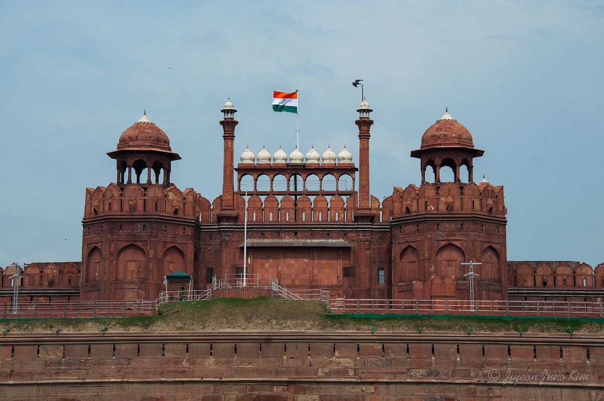 Red Fort Old Delhi India