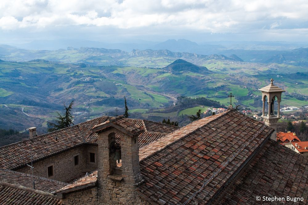 view from San Marino