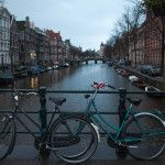 Amsterdam city of bicycles