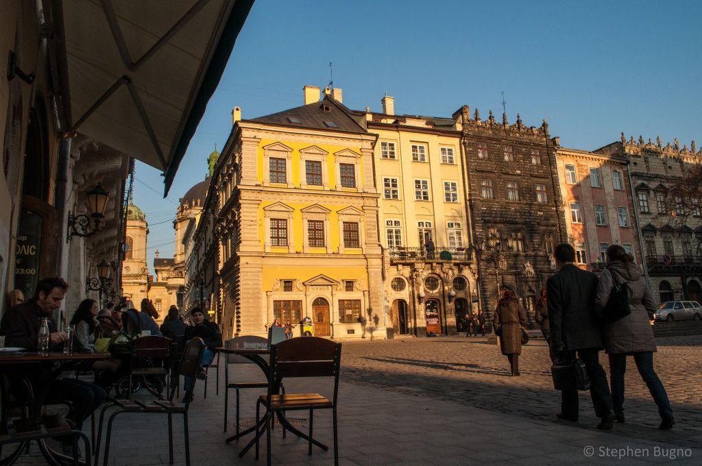 Lviv Ukraine Rynok Square