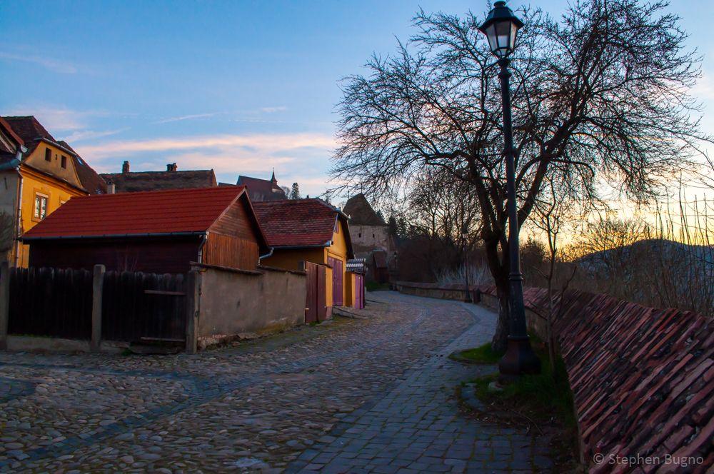 Sighisoara Romania Houses